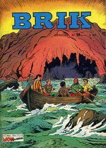 Couverture de Brik (Mon journal) -59- L'arche rouge