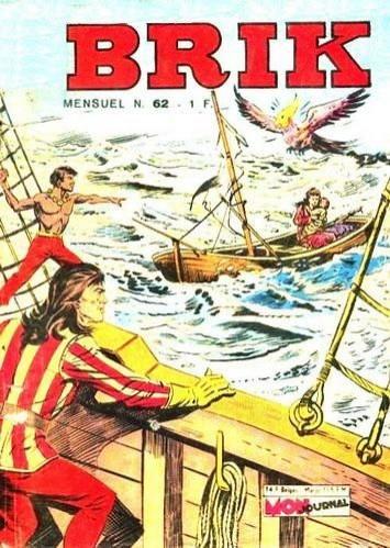 Couverture de Brik (Mon journal) -62- Le naufragé de la Forêt Morte
