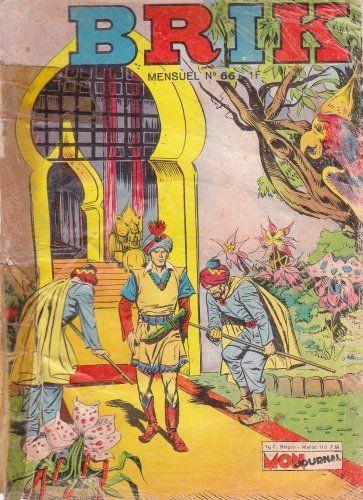 Couverture de Brik (Mon journal) -66- L'œil de la déesse
