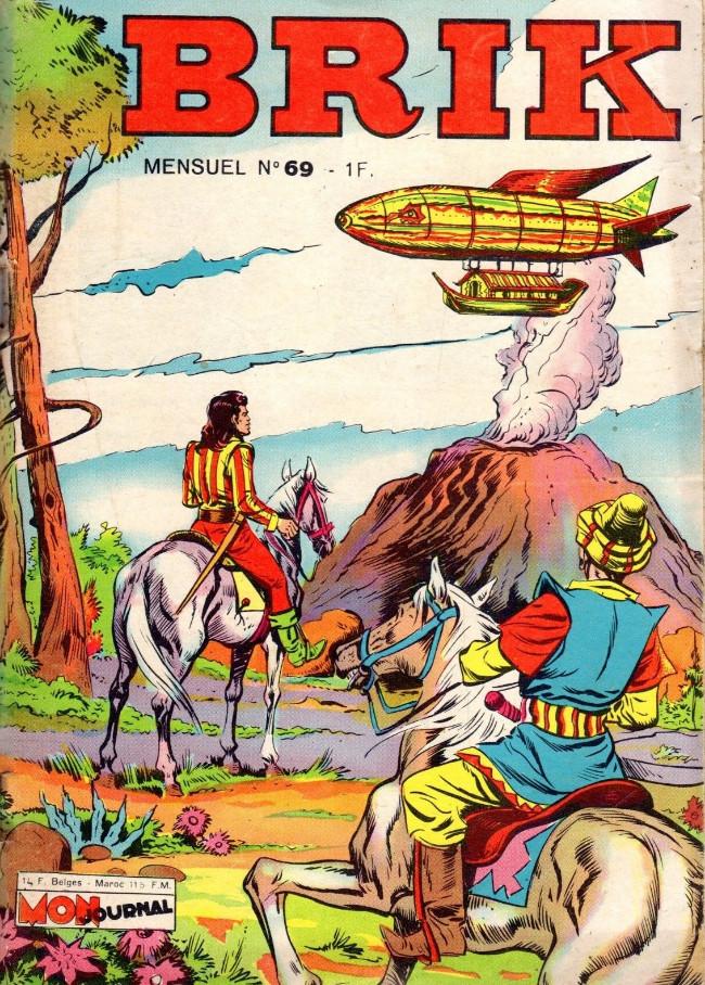 Couverture de Brik (Mon journal) -69- La machine volante