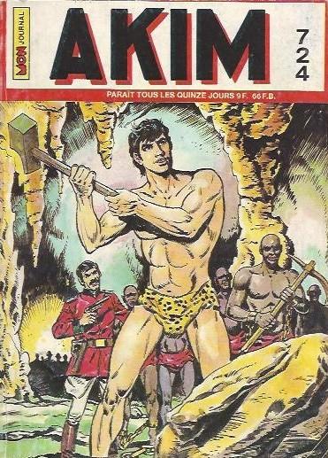 Couverture de Akim (1re série) -724- Le maître de la pluie