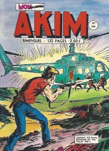 Couverture de Akim (1re série) -430- Le peuple des falaises