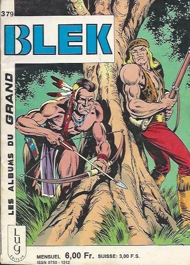 Couverture de Blek (Les albums du Grand) -379- Numéro 379