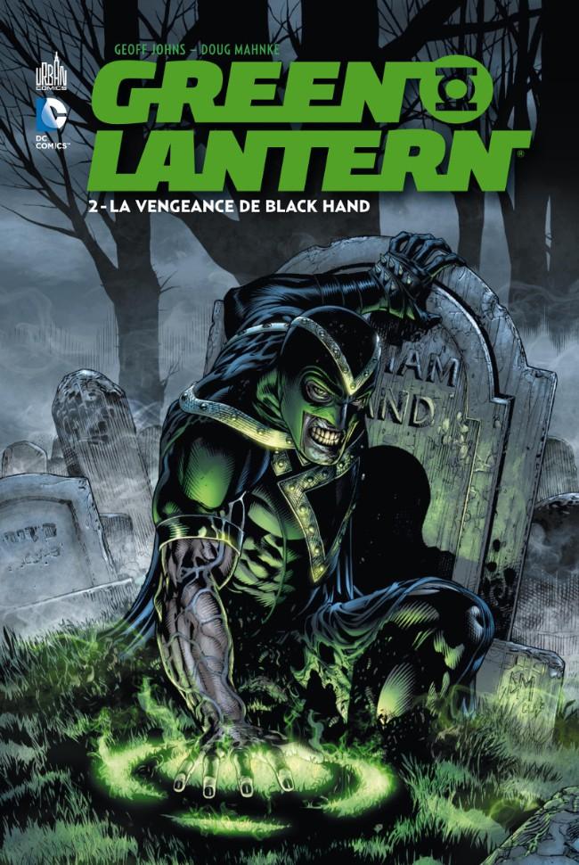 Couverture de Green Lantern (DC Renaissance) -2- La Vengeance de Black Hand