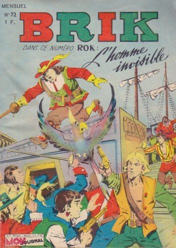 Couverture de Brik (Mon journal) -72- La traîtrise de Mr. de Bougrain