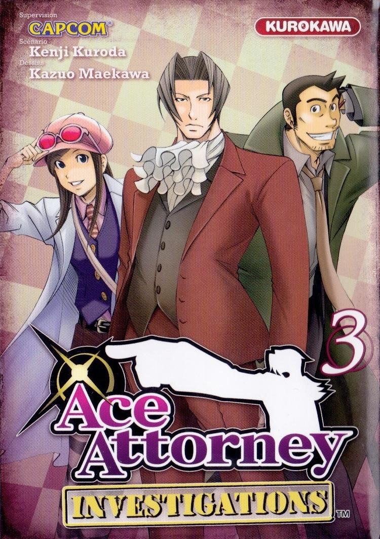 Couverture de Ace Attorney Investigations -3- Tome 3