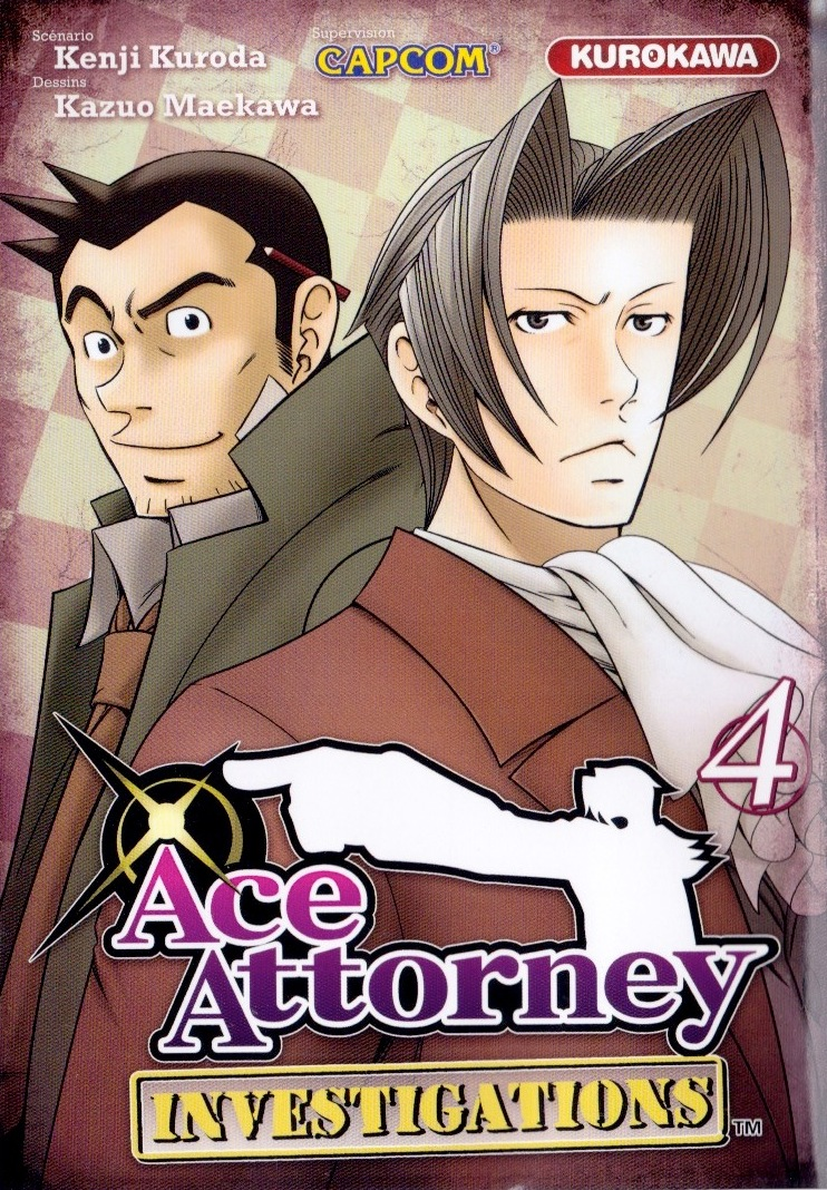 Couverture de Ace Attorney Investigations -4- Tome 4