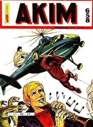 Couverture de Akim (1re série) -658- Le Joueur de clarinette