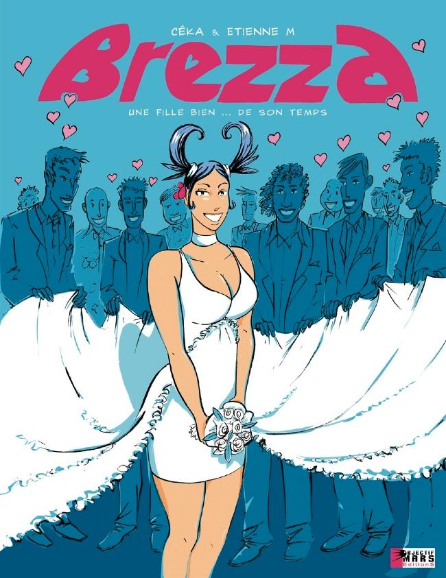 Couverture de Brezza -1- Brezza, une fille bien... de son temps