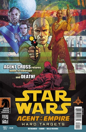 Couverture de Star Wars: Agent of the Empire - Hard Targets (2012) -1- Hard targets part 1