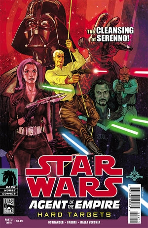 Couverture de Star Wars: Agent of the Empire - Hard Targets (2012) -2- Hard targets part 2