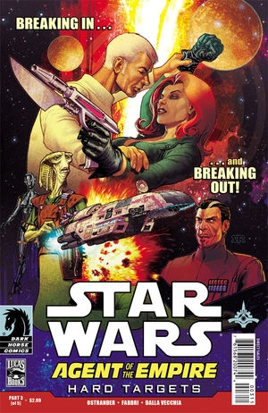 Couverture de Star Wars: Agent of the Empire - Hard Targets (2012) -3- Hard targets part 3