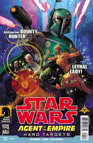 Couverture de Star Wars: Agent of the Empire - Hard Targets (2012) -4- Hard targets part 4