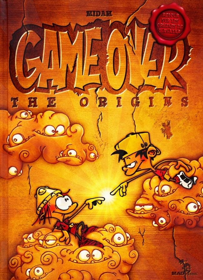 Couverture de Game Over - The Origins