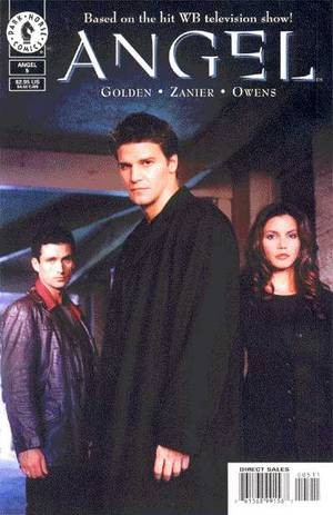 Couverture de Angel (1999) -5- Garthly possessions 1/3