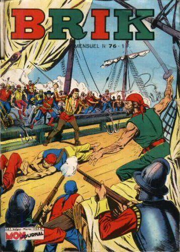 Couverture de Brik (Mon journal) -76- Tigre Jaune