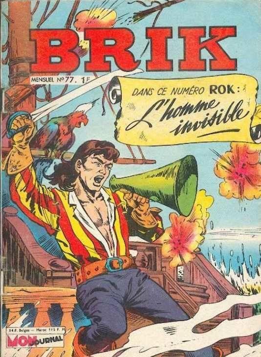 Couverture de Brik (Mon journal) -77- Prisonnier de l'emperador