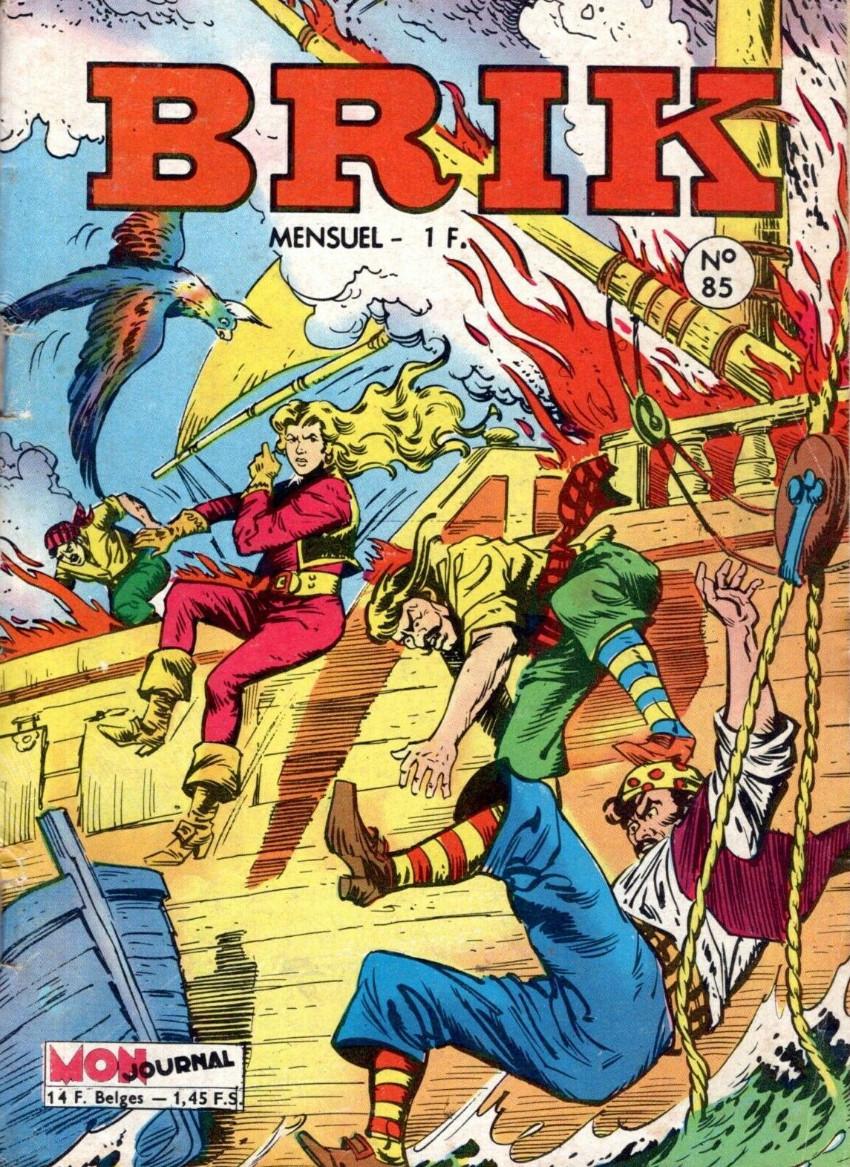 Couverture de Brik (Mon journal) -85- La bataille de l'or