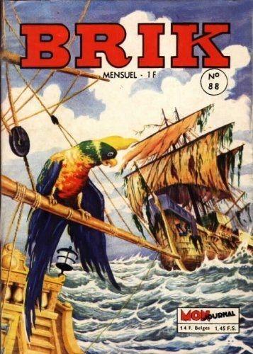 Couverture de Brik (Mon journal) -88- Le fou des Sargasses