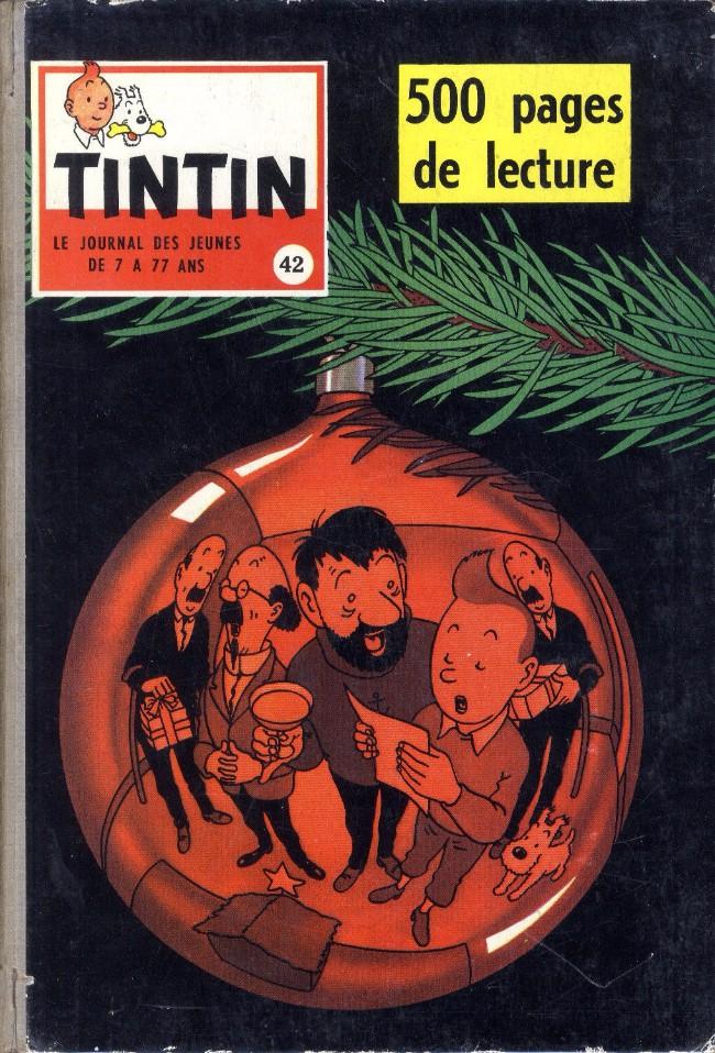 Couverture de (Recueil) Tintin (Album du journal - Édition française) -42- Tintin album du journal