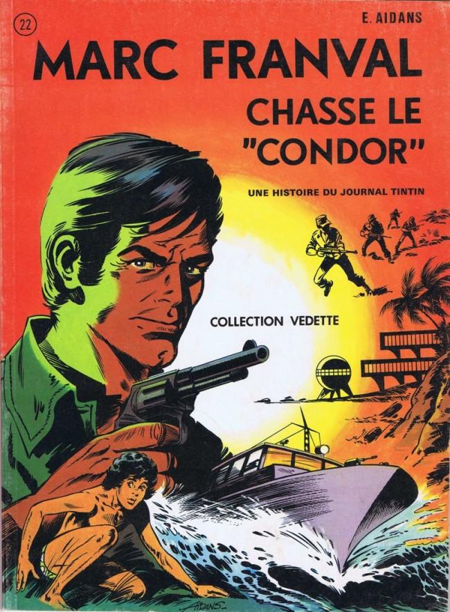 Couverture de Les franval -8- Marc Franval chasse le condor