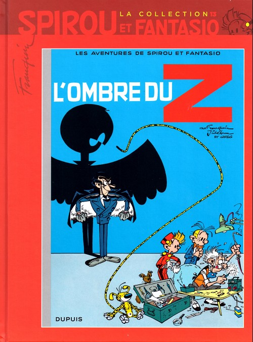 Couverture de Spirou et Fantasio - La collection (Cobra) -13- L'ombre du Z