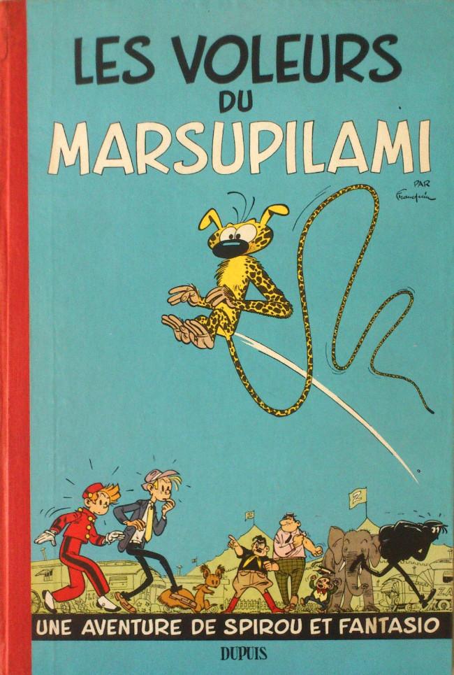 Couverture de Spirou et Fantasio -5- Les voleurs du Marsupilami
