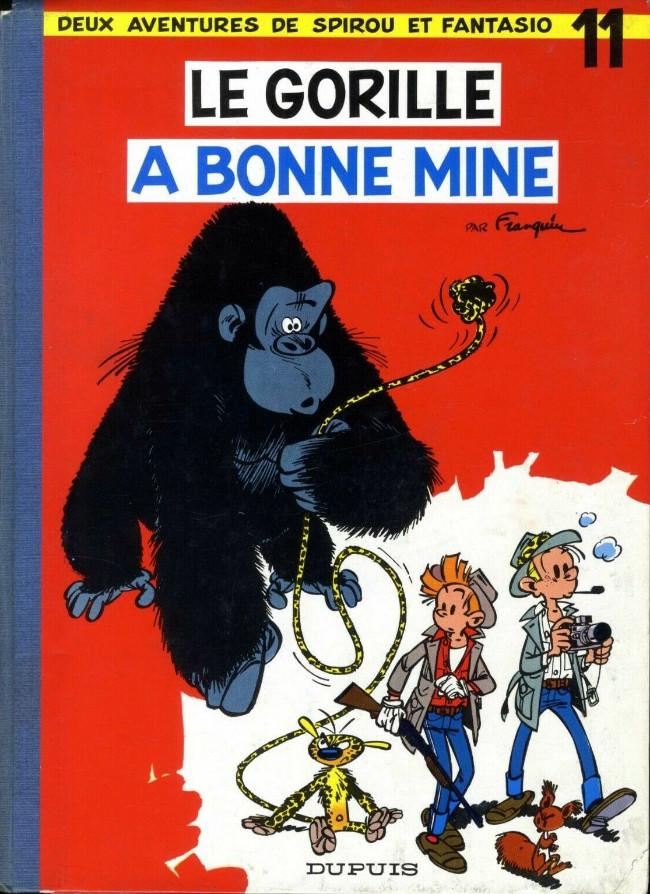 Couverture de Spirou et Fantasio -11- Le gorille a bonne mine