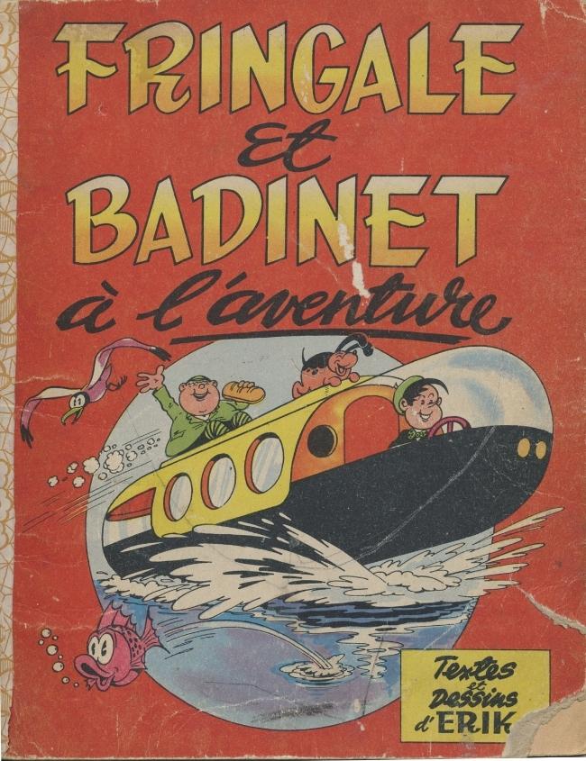 Couverture de Fringale et Badinet -2- Fringale et Badinet à l'aventure