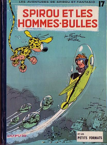 Couverture de Spirou et Fantasio -17- Spirou et les hommes-bulles