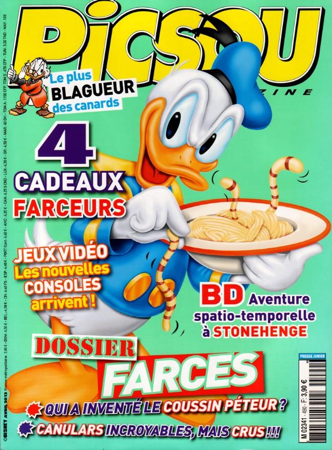 Couverture de Picsou Magazine -490- Picsou Magazine n° 490
