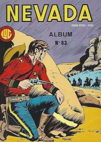 Couverture de Nevada (LUG) -Rec83- Album N°83 (du n°446 au n°448)