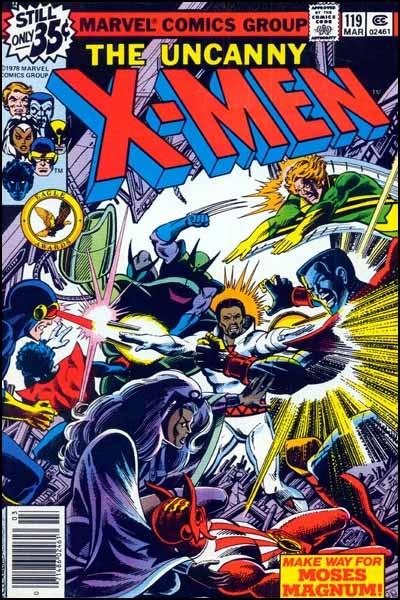 Couverture de Uncanny X-Men (The) (1963) -119- 'Twas the night before Christmas
