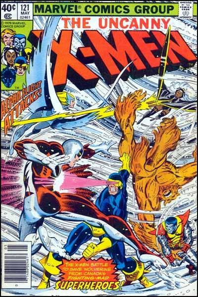 Couverture de Uncanny X-Men (The) (1963) -121- Shoot-out at the stampede