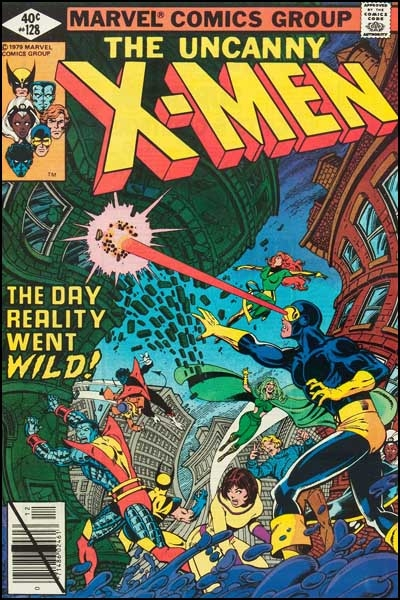 Couverture de Uncanny X-Men (The) (Marvel comics - 1963) -128- The action of the tiger!