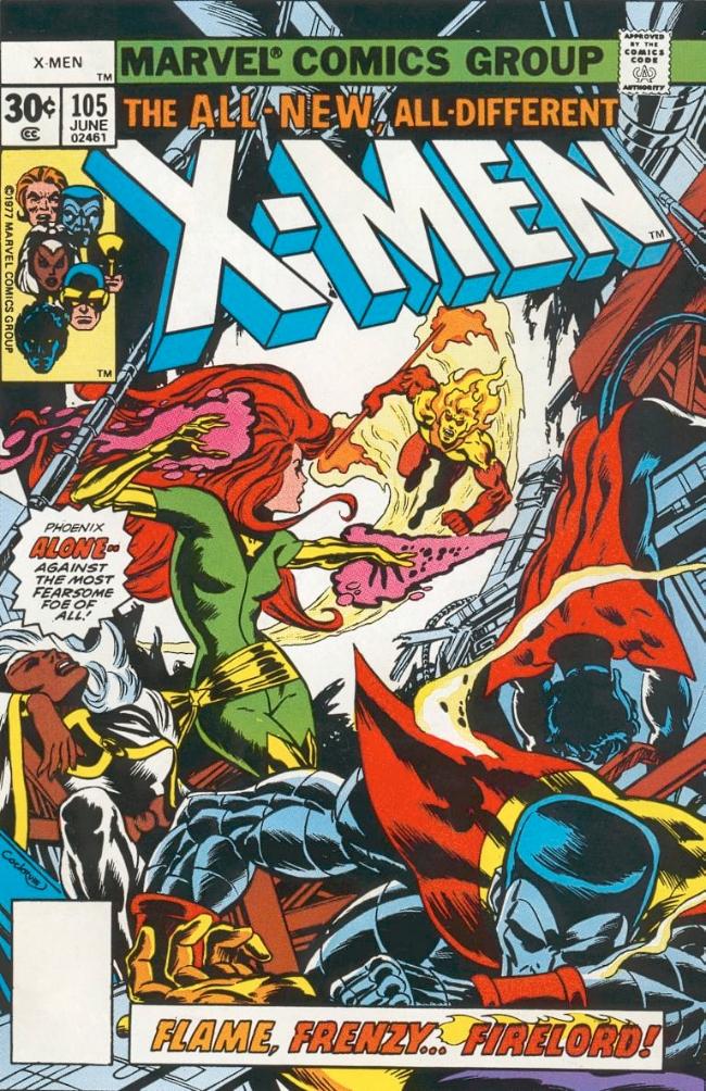 Couverture de Uncanny X-Men (The) (Marvel comics - 1963) -105- Phoenix unleashed