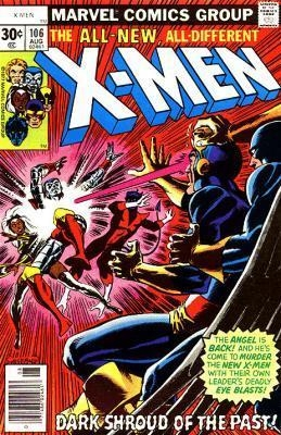 Couverture de Uncanny X-Men (The) (1963) -106- Dark shroud of the past