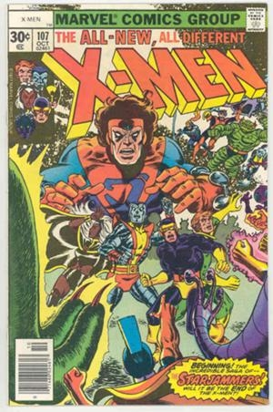 Couverture de Uncanny X-Men (The) (Marvel comics - 1963) -107- Where no X-Man has gone before