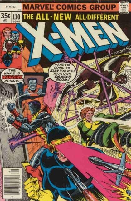 Couverture de Uncanny X-Men (The) (1963) -110- The X-Sanction