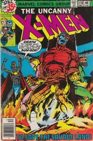 Couverture de Uncanny X-Men (The) (1963) -116- To save the savage land
