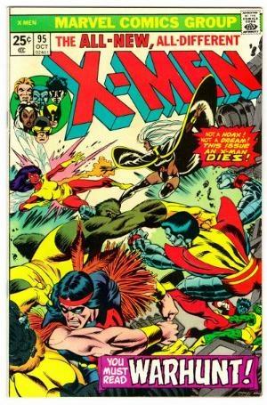 Couverture de Uncanny X-Men (The) (Marvel comics - 1963) -95- Warhunt