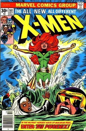 Couverture de Uncanny X-Men (The) (1963) -101- Like a phoenix, from the ashes