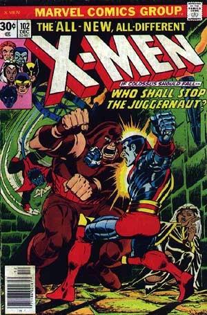 Couverture de Uncanny X-Men (The) (Marvel comics - 1963) -102- Who will stop the Juggernaut ?