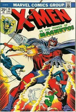 Couverture de Uncanny X-Men (The) (1963) -91- The Torch is passed…!
