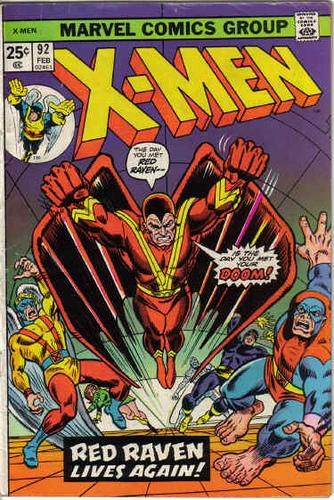 Couverture de Uncanny X-Men (The) (1963) -92- Red Raven, Red Raven…!