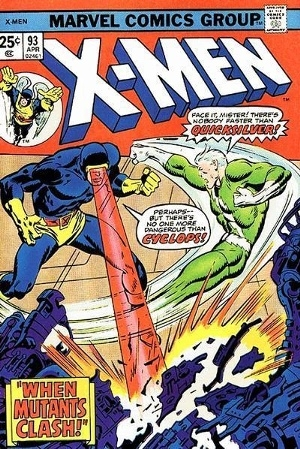 Couverture de Uncanny X-Men (The) (Marvel comics - 1963) -93- When mutants clash!