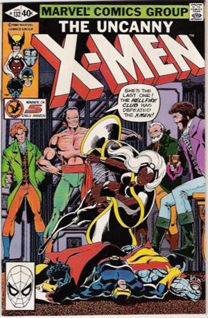 Couverture de Uncanny X-Men (The) (Marvel comics - 1963) -132- And Hellfire is their name