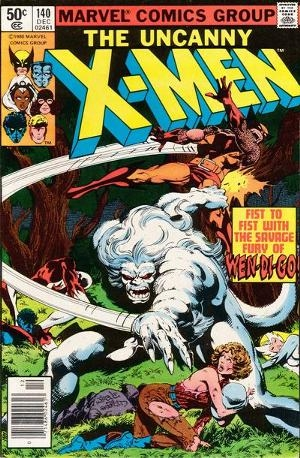 Couverture de Uncanny X-Men (The) (Marvel comics - 1963) -140- Rage