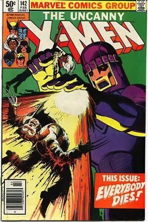 Couverture de Uncanny X-Men (The) (Marvel comics - 1963) -142- Everybody dies
