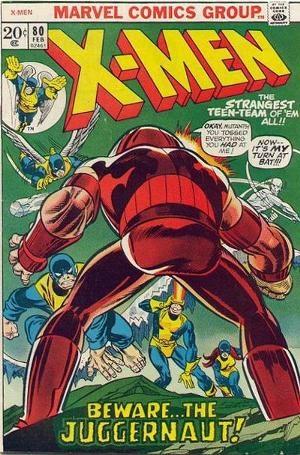 Couverture de Uncanny X-Men (The) (1963) -80- Beware the Juggernaut, my son